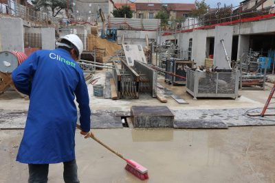 Nettoyage fin de chantier, avant réception